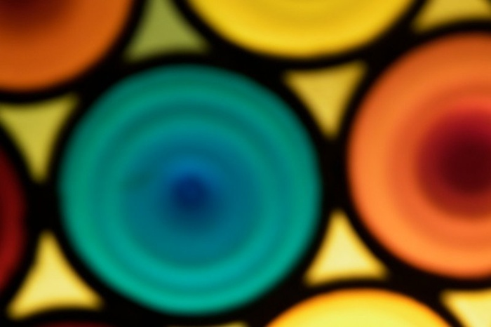 Blurred Stained Glass