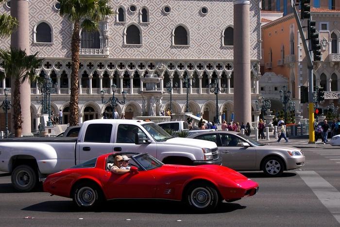Corvette at Venitian