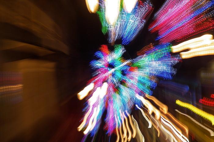 Christmas Lights Fireworks