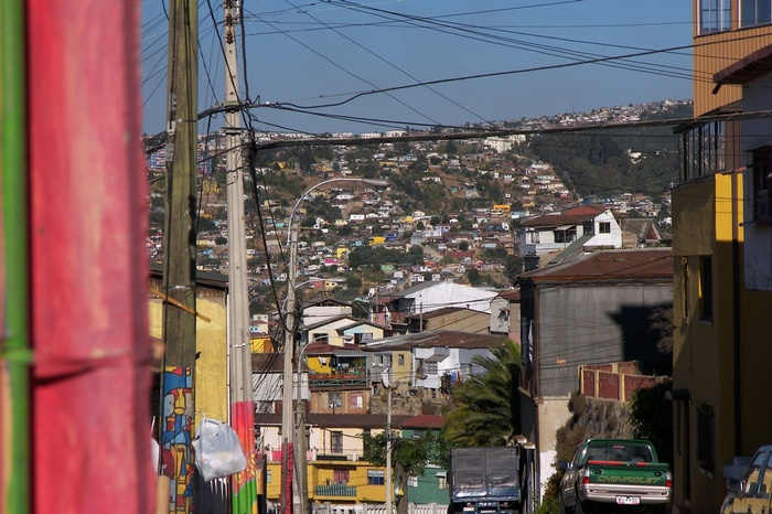 The Streets of Valparaiso