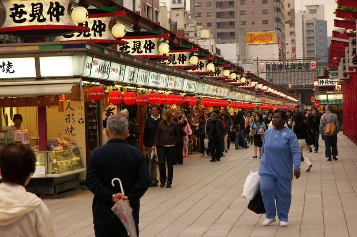 Tokyo Tourist in Blue