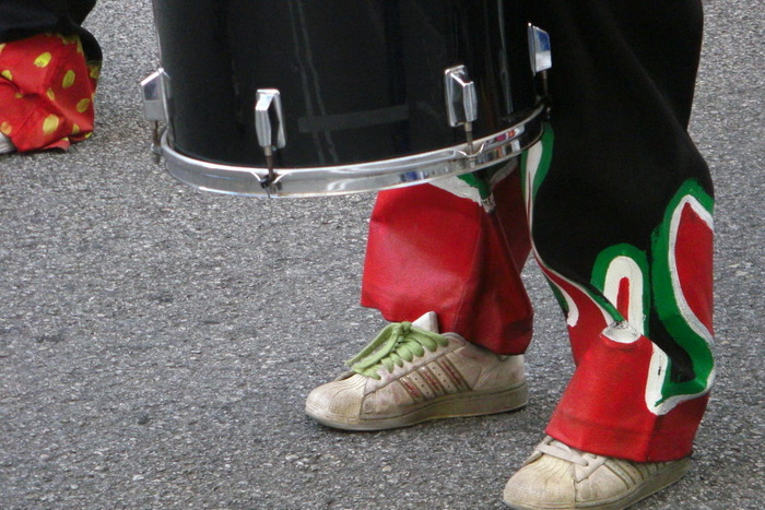 The Drummer's Feet