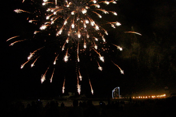 Barceloneta Fireworks