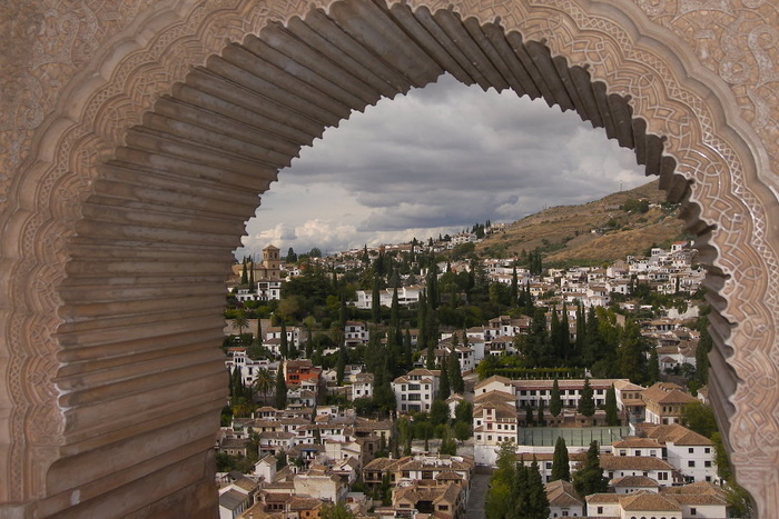 Granda Through the Alhambra