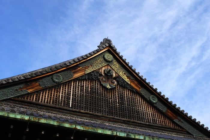 Blue Kyoto Castle